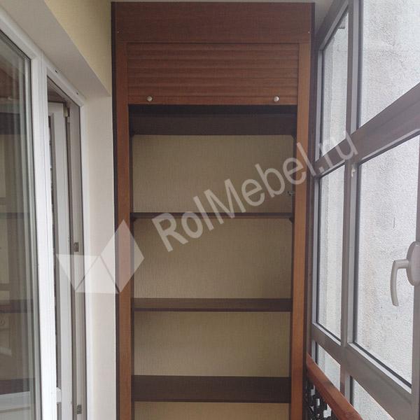 Шкафы на балкон по индивидуальным размерам недорого..